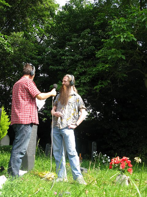 Mike chats with Dr Aubrey de Grey