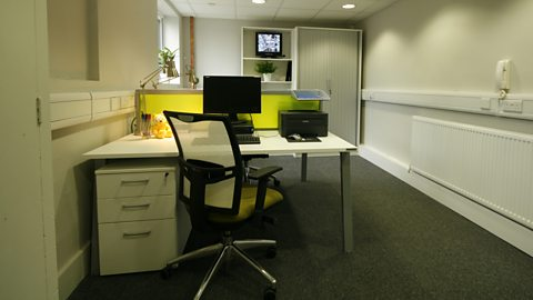AFTER: RECEPTION OFFICE