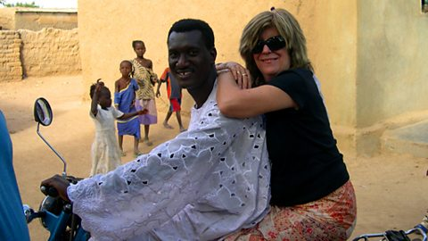 Lucy Duran and Bassekou Kouyate