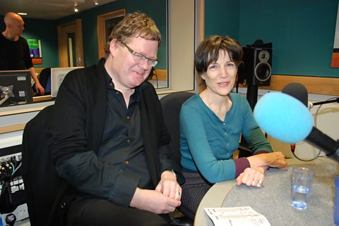 Artistic Director James Runcie and actress/writer Harriet Walter - 24/02/12