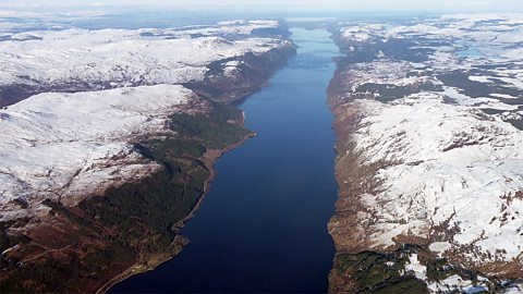 Day3: Loch Ness from 6000 feet