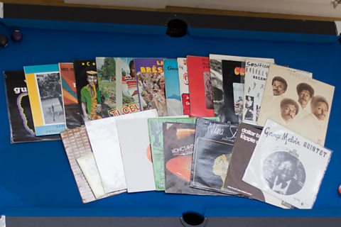 A selection of the records Gilles played on this week's show