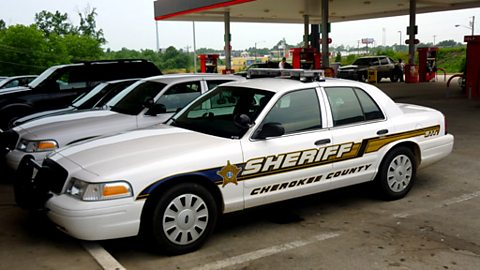 Sheriff's cars