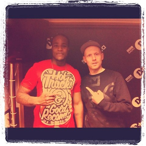 DJ Q with Jamie from Tomb Crew