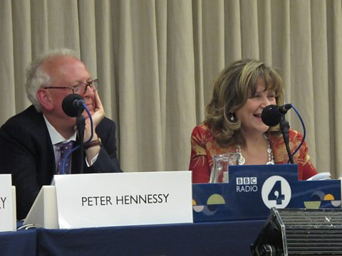 Peter Hennessy and Helena Kennedy