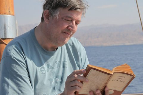 Stephen Fry reading The Odyssey