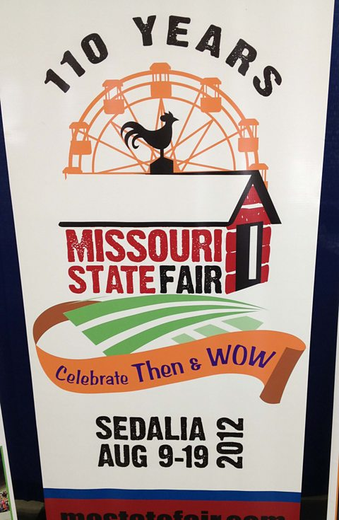 The Missouri State Fair held in the midst of drought