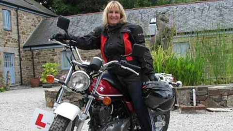 Linnie Churchill - passionate learner motorcyclist