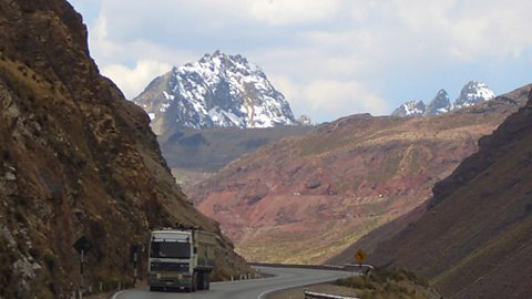 In the high Andes