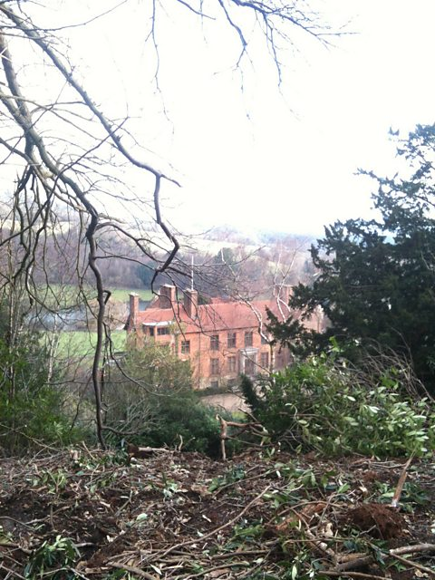 Chartwell, the former home of Winston Churchill
