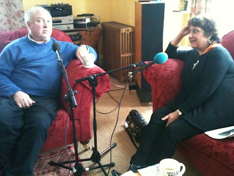 Louis de Bernieres and Yasmin Alibhai-Brown