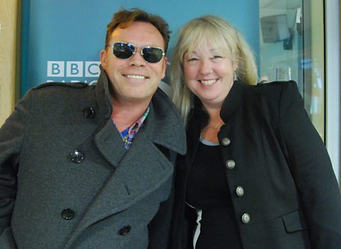 Liz was joined by former UB40 frontman Ali Campbell to hear about his fantasy party.