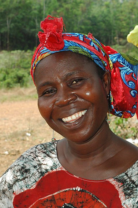 Ida Moore, head of the Palala women's group in Liberia