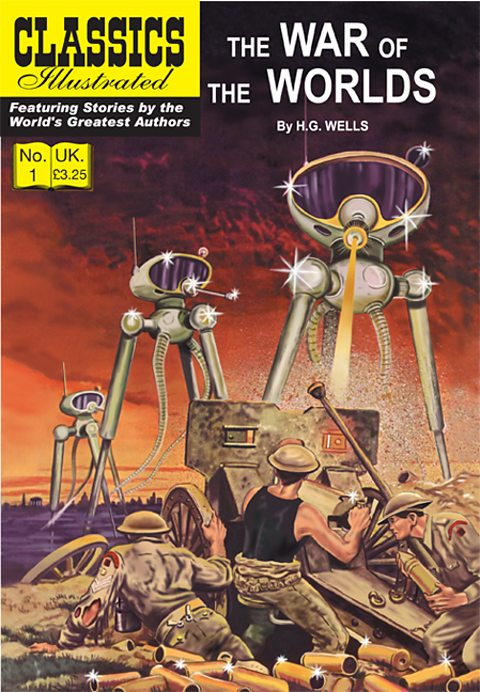 Classics Illustrated adaptation of War of the Worlds