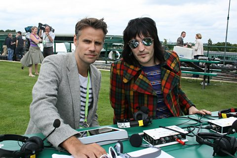 Richard Bacon and guest Noel Fielding