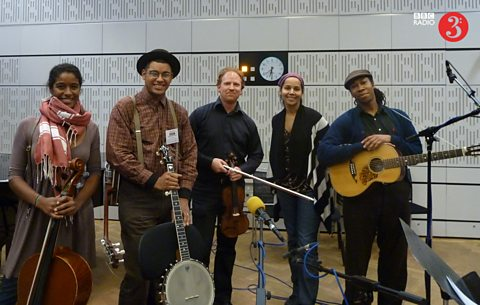 Carolina Chocolate Drops and violinist Daniel Hope