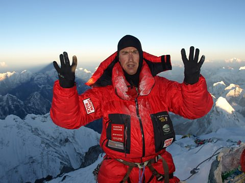KENTON COOL HAS CLIMBED EVEREST TEN TIMES