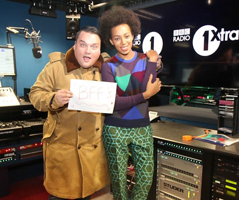 Charlie Sloth and Solange