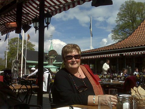 Jenni Murray in Stockholm