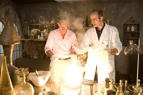 Michael Mosley and Dr Andrea Sella try to find the philosopher's stone