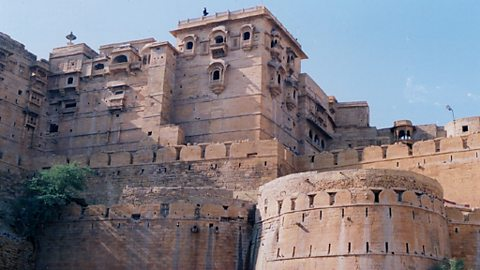 The fort at Jaiselmer