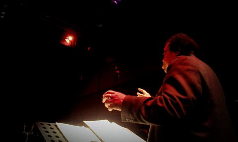 George Lewis conducts Tractatus