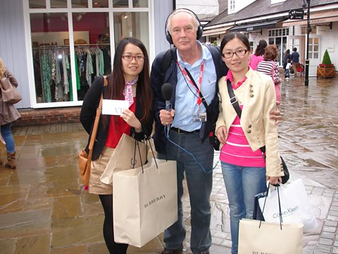 Chinese tourists are amongst the highest spending visitors to the UK