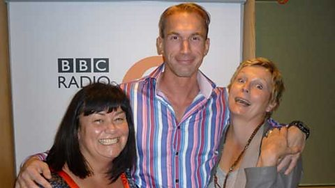 Dawn and Jennifer with guest Dr Christian Jessen