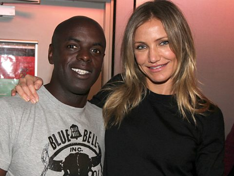 Trevor and Cameron Diaz