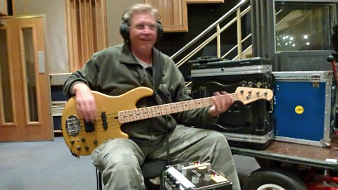 Walter Trout in session: Rick Knapp
