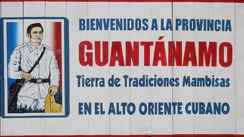 The Guantanamo Province Border