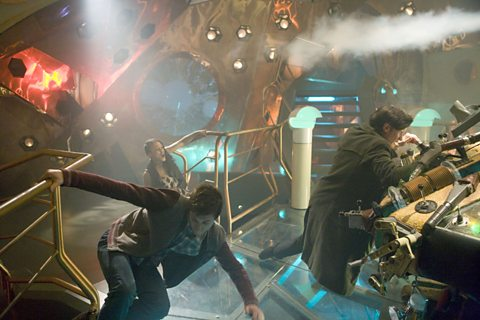 A rocky ride on the TARDIS!