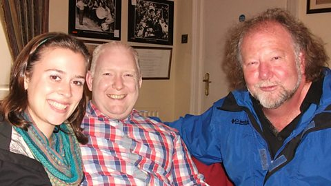 Natalie Haas, Mark Wilson and Alasdair Fraser