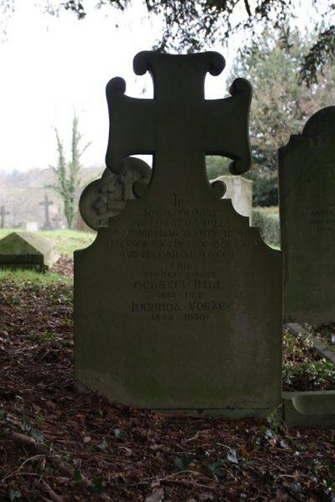 The grave of Octavia Hill at Crockham Hill