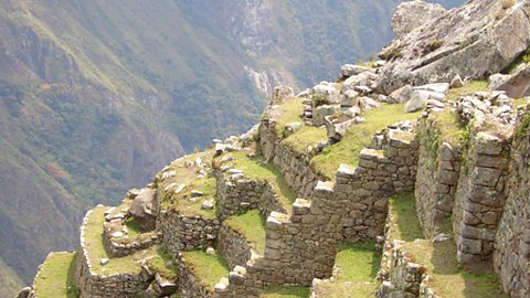 The lost city of Machu Picchu