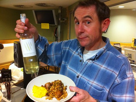 Nigel Barden and his sausage cassoulet