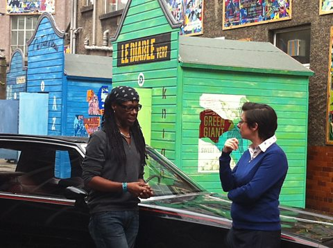 Sue Perkins meets music legend Nile Rodgers