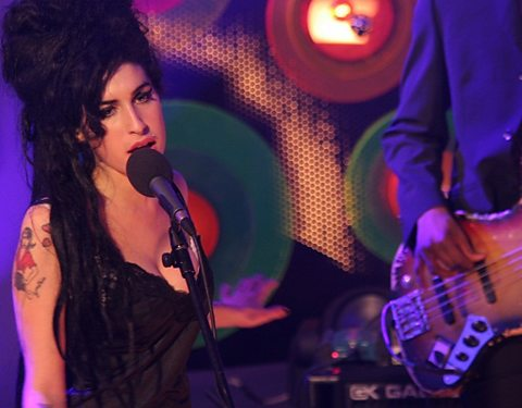 Amy Winehouse performs in Dingle for Other Voices, December 2006.