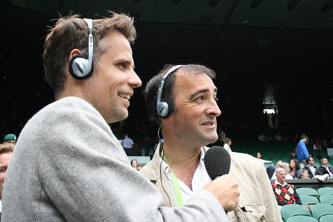 Alistair McGowan joins Richard Bacon