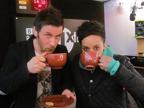 Danny Howard and Adele Roberts have a Brew for Two