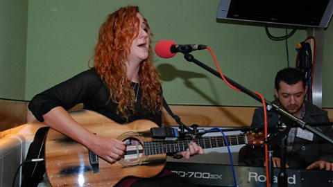 Megan Henwood live in session