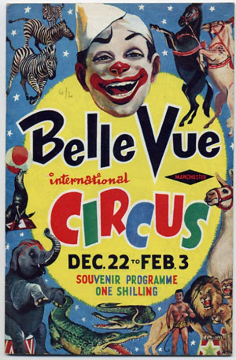 Souvenir programme from Belle Vue International Circus