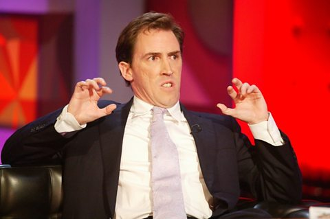 Thursday's guest Rob Brydon