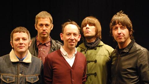 Lammo and the Beady Eye lads