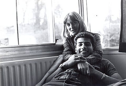 George and his wife Frances