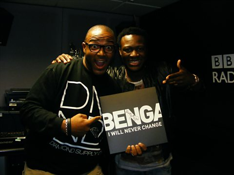 Benga joins Mistajam live in the studio