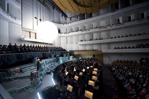 The KKL Luzern Concert Hall