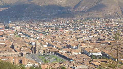 The beautiful Inca/Colonial city of Cuzco