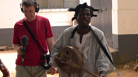 King Ayisoba and Producer Roger Short