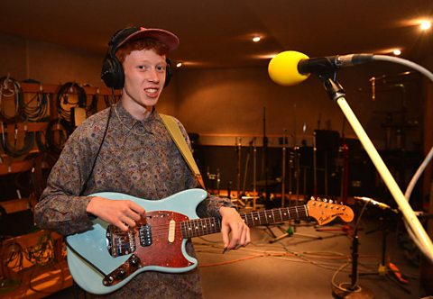 King Krule plays live at Maida Vale studios
